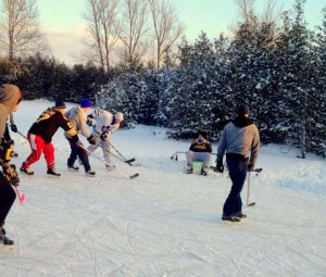 community hockey fun