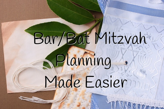 Bar:Bat Mitzvah Planning Made Easier