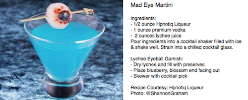 Mad Eye Martini