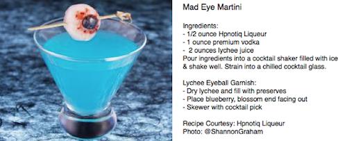 Mad Eye Martini